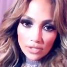 JLo speaks to her fans backstage