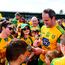 Donegal talisman Michael Murphy signs autographs after the game. Photo: Daire Brennan/Sportsfile