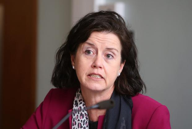 Defence: FBD boss Fiona Muldoon denies insurers are making huge profits. Photo: Damien Eagers