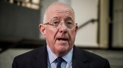 Holding firm: Charlie Flanagan said enough cash was available. Photo: Liam McBurney/PA