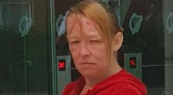 'Tragic' life: Jennifer Armstrong's (44) litany of past offences was described as an Irish 'record'
