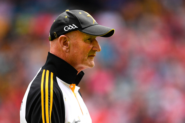 Kilkenny manager Brian Cody during the GAA Hurling All-Ireland Senior Championship quarter-final match between Kilkenny and Cork at Croke Park in Dublin. Photo by Ramsey Cardy/Sportsfile