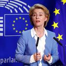 Needs 376 votes: German politician Ursula von der Leyen. Photo: REUTERS/Francois Lenoir