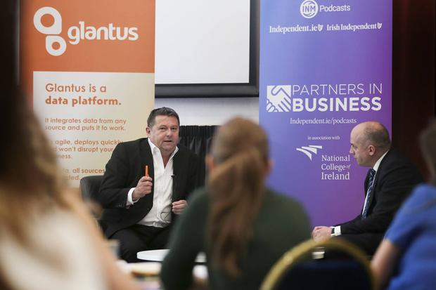 INM Podcast. Irish Independent Business Editor Donal O'Donovan with Glantus founder Maurice Healy