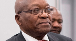 Probe: Jacob Zuma arrives to appear before the corruption inquiry. Photo: WIKUS DE WET/AFP/Getty Images
