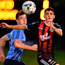 Dawson Devoy of Bohemians in action against UCD's Harry McEvoy. Photo: Seb Daly/Sportsfile