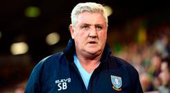 Steve Bruce is seeking to take up the manager position at Newcastle. Photo: Joe Giddens/PA Wire