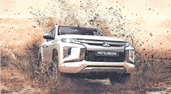 Workhorse: The new Mitsubishi L200 pickup. Due here later in the year.