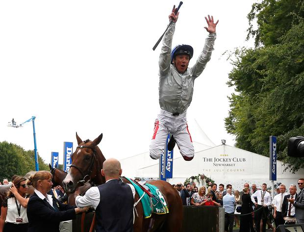 Frankie Dettori, 'the Tiger Woods of racing'. Photo: Darren Staples/PA Wire