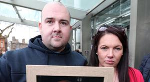 Robert Ryan Jnr and his sister Michelle are suing their father's murderer Patrick Quirke. Photo: Colin Keegan, Collins Dublin