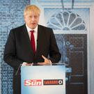 Boris Johnson will seek the removal of the backstop. Picture: PA