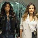 Gabrielle Union and Jessica Alba in LA's Finest