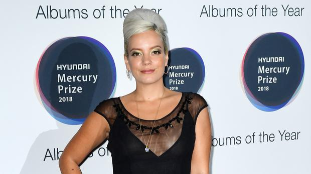 Lily Allen has featured on the How To Fail podcast (Ian West/PA)
