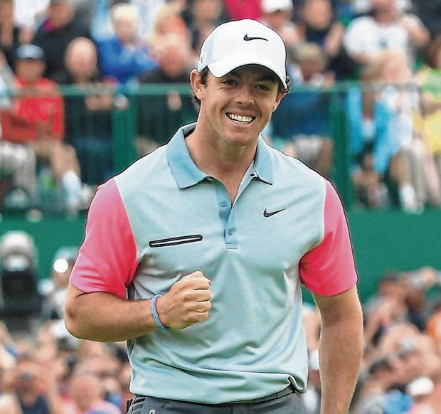 Rory McIlroy in 2014. Photo: Andrew Redington/Getty Images