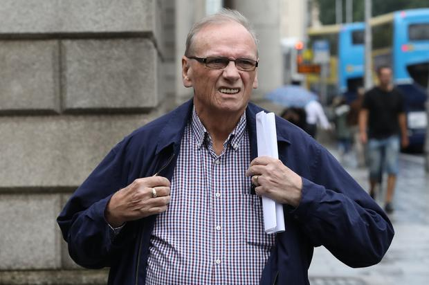 Gerard May pictured leaving the Four Courts. Photo: Collins Courts