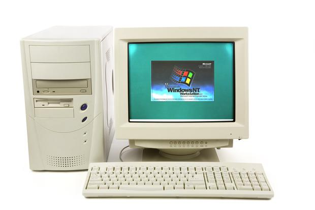Bootstraps: Microsoft's Windows NT operating system was built on computers running Windows NT