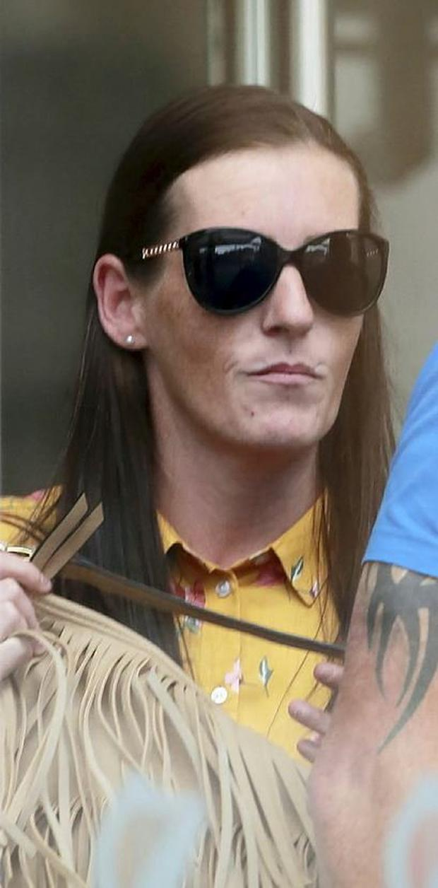 Christine Keogh pictured outside of court