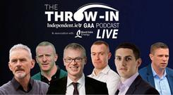 The Throw-In podcast is coming to Wexford for a live show.