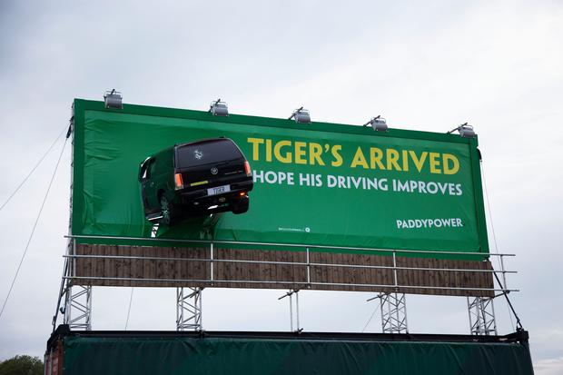 Entertainment: Paddy Power promotes brand by poking fun at Tiger Woods
