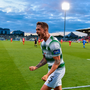 Rovers return: Lee Grace celebrates after Jack Byrne's equaliser at Tallaght Stadium. Photo: Sportsfile