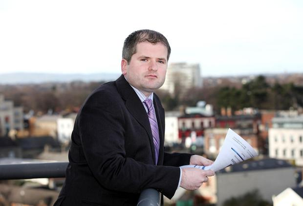 Economist: Dermot O'Leary says unsold stock is increasing. Picture: Maxwells