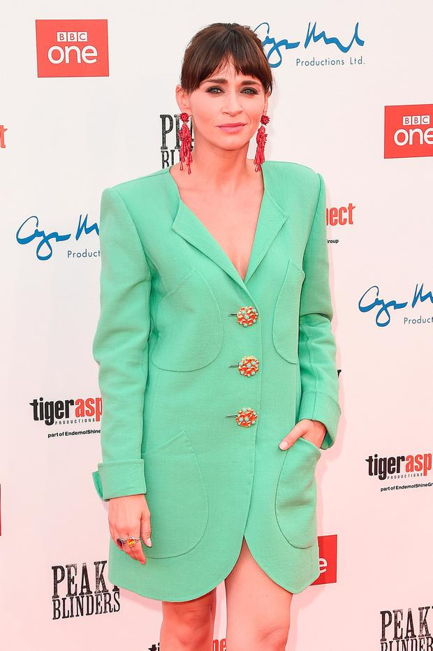 Charlene McKenna attends the premiere of the 5th season of