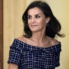 Queen Letizia of Spain attends audiences at Zarzuela Palace on July 16, 2019 in Madrid, Spain. (Photo by Samuel de Roman/Getty Images)
