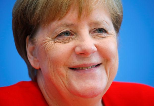 German Chancellor Angela Merkel holds the annual summer news conference in Berlin, Germany REUTERS/Hannibal Hanschke