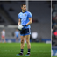 Dean Rock (left) and Cormac Costello (right) are competing for a starting place in the Dublin team.
