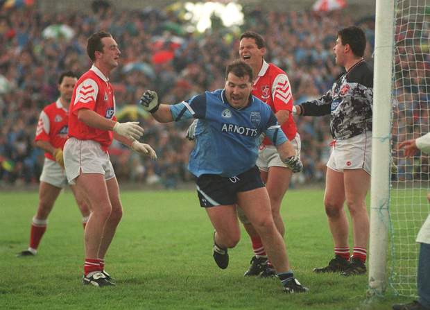 Joe McNally won an All-Ireland in 1983 and enjoyed an up-and-down career with Dublin. Picture credit; Ray McManus / SPORTSFILE