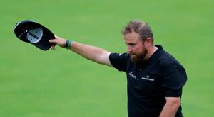 Republic Of Ireland's Shane Lowry after his round on the 18th during day two of The Open Championship 2019 at Royal Portrush Golf Club. Richard Sellers/PA Wire.