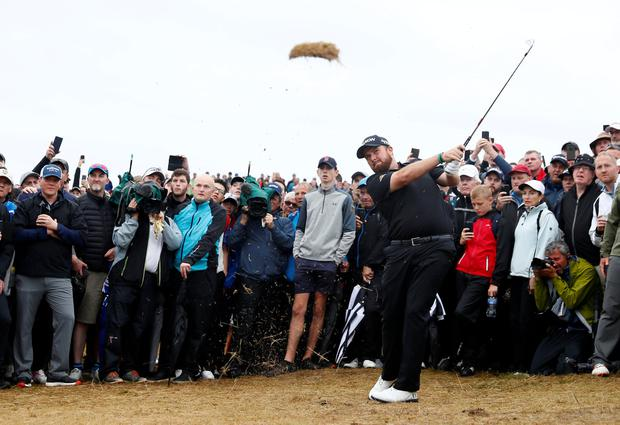 Golf - The 148th Open Championship - Royal Portrush Golf Club, Portrush, Northern Ireland - July 19, 2019 Republic of Ireland's Shane Lowry on the 17th hole during the second round REUTERS/Jason Cairnduff TPX IMAGES OF THE DAY
