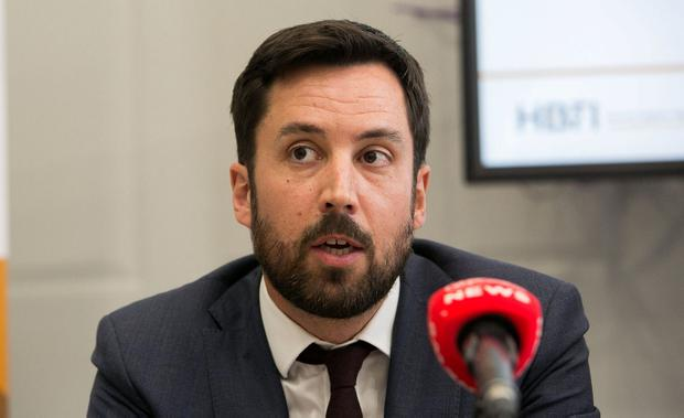 'Fixated': Eoghan Murphy. Photo: Gareth Chaney, Collins