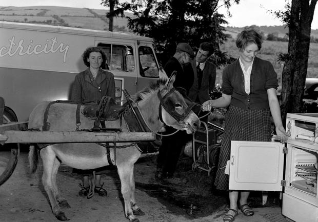 Change: The National Museum is showcasing 'Kitchen Power' through rural electrification. Picture courtesy of the ESB Archive