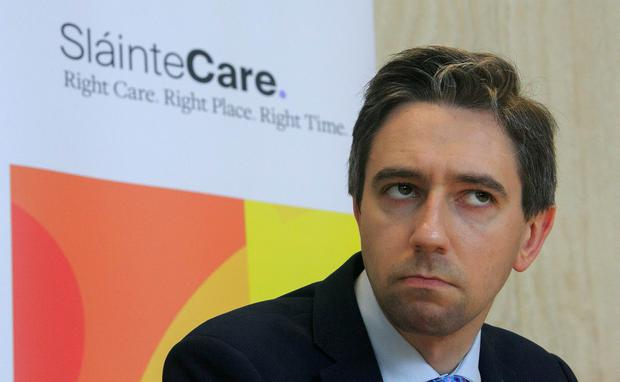 Validation: Simon Harris said patients who have been in the queue more than nine months are being contacted. Photo: Gareth Chaney, Collins