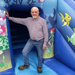 Gerry Frawley of Bounce Ireland. Photo: Damien Eagers / INM