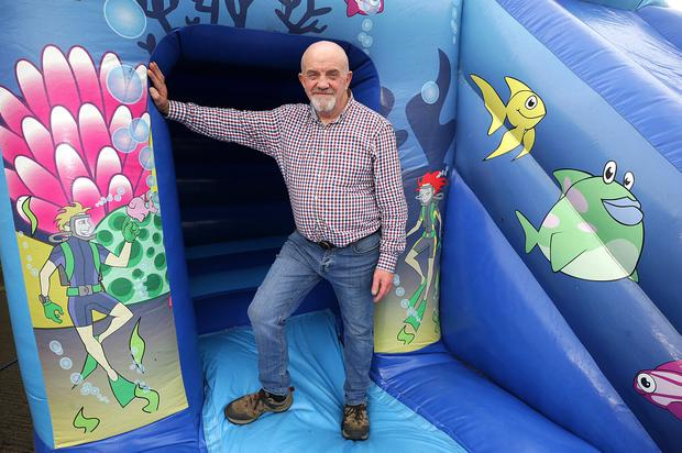 Let down: Gerry Frawley, of the Irish Inflatable Hirers' Federation. Photo: Damien Eagers/INM