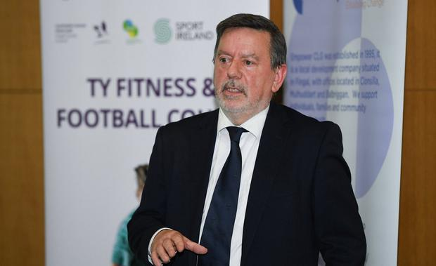Seeks re-election: Current FAI president Donal Conway. Photo: Harry Murphy/Sportsfile