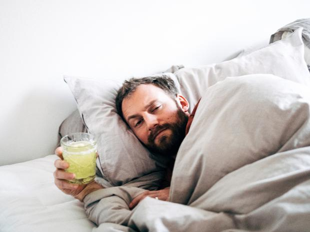 'My theory is the people who tell men it's only man flu should share responsibility for the fact so many men are reluctant to go to the doctor' (stock photo)