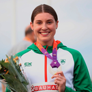 To get on the podium, O'Connor needed to produce a superb second day of competition - and that's exactly what she did. Photo: Giancarlo Colombo/Sportsfile