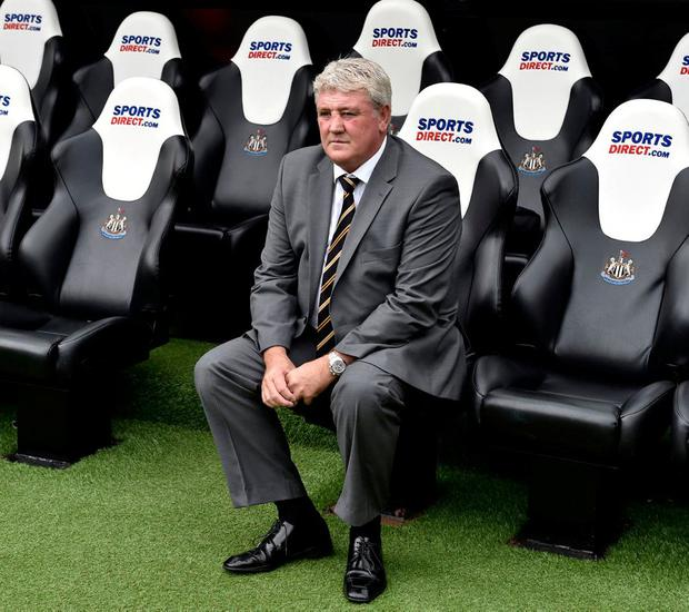 Many Newcastle supporters have said they are underwhelmed by Bruce's appointment. Photo: Owen Humphreys/PA Wire