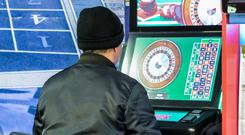 GAMBLE: Fixed odds machines. Stock picture