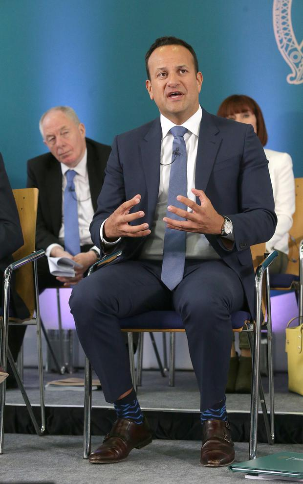 APOLOGY: Leo Varadkar said cases would be re-examined. Picture: Damien Eagers