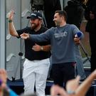 Ireland's Shane Lowry after completing the third round
