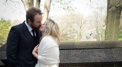 Shane Lowry wed Wendy Honner in New York in 2016. Picture: @ShaneLowryGolf