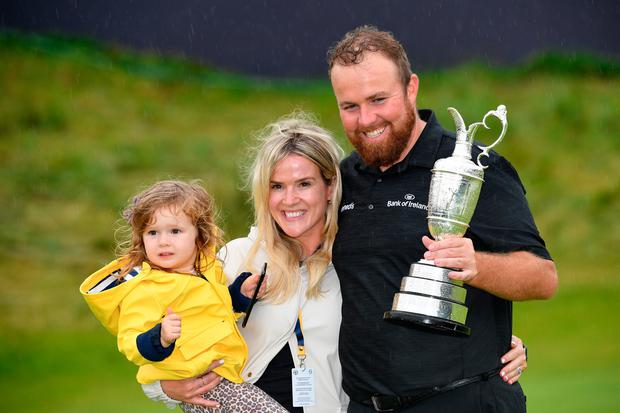 Claret And Banter >> 'My wife and my little girl, having them here is so special' - Shane Lowry hails family as he ...