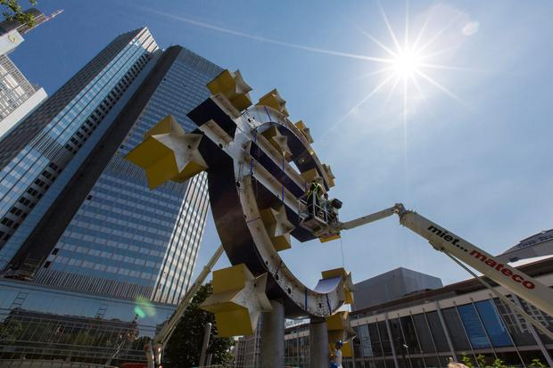 Flux: The European Central Bank has driven the bond market swings. Photo: Martin Leissl/Bloomberg