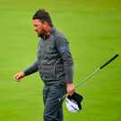 Graeme McDowell on the 18th green after finishing his round during Day Four. Photo: Sportsfile