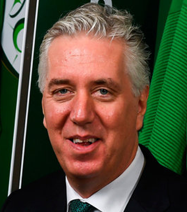 John Delaney (pictured) and the FAI face criticism from Noel Rock