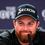 Shane Lowry of Ireland during a press conference after winning The Open Championship